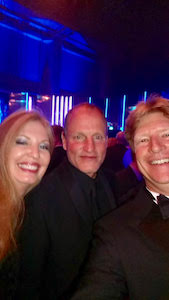 Tami & Robert Wolfe with Woody Harrelson
